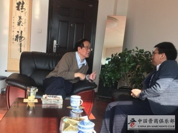 段晓辉拜访张世伦 汇报众创空间科技集团天津工作
