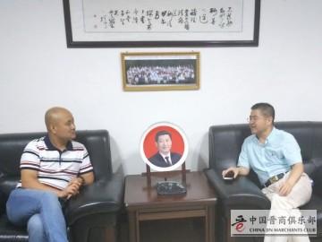 石勇副理事长指导晋商俱乐部秘书处工作