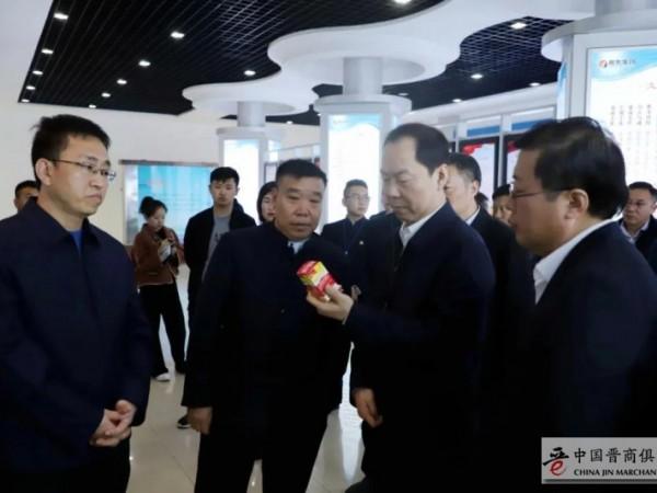 长治代市长王俊飚视察振东集团