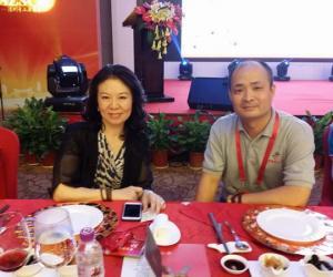 晋商俱乐部秘书长刘文斌与雅尔德律所总裁孙蕴出席深圳山西商会招待晚宴