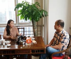 晋商诺亚信创投董事长张琦与晋商俱乐部秘书长刘文斌共话晋商投融专家智库